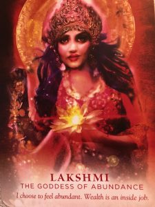 image of LAKSHMI, goddess of abundance