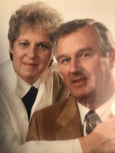 Photo of Gloria's mom and dad